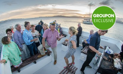 Three-Course Dinner Cruise + $500 Bar Tab for 30, 40, 50 or 60 People with East By West Ferries (Up to $4,085 Value)