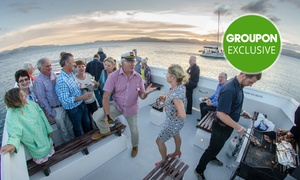 East By West Ferries: Three-Course Dinner Cruise + $500 Bar Tab for 30, 40, 50 or 60 People with East By West Ferries (Up to $4,085 Value)