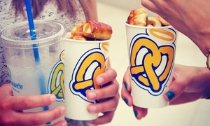 Auntie Anne's: Five Gourmet Pretzels and Lemonades, or $13 for $20 Worth of Pretzels and Drinks at Auntie Anne's
