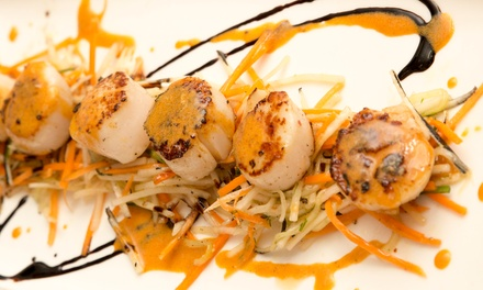 Menu gastronomique Retour du marché en 4 services, pour 1 ou 2 convives, dès 38,90 € au Restaurant Daniel Desavie