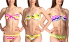 Women's Printed Bikinis with Removable Straps