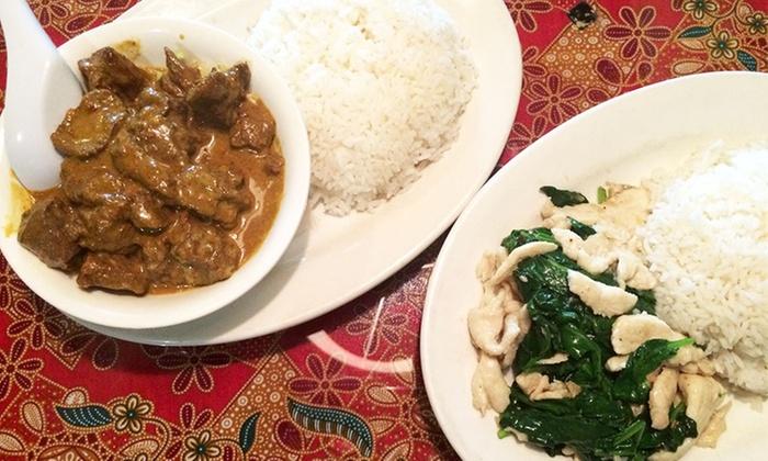 Malaya Restaurant - Upper Westside: $8 for $15 Worth of Malaysian Cuisine at Malaya Restaurant