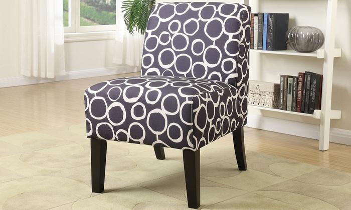 acme ollano fabric slipper chair acme ollano fabric slipper chair
