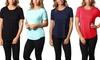 Women's Crew-Neck Tunic Top (3-Pack)