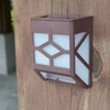 Solar Powered Wall Sconce Light