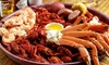 The Crawfish Joint - Lake Windcrest: Authentic Cajun Cuisine at The Crawfish Joint (Up to 50% Off). Two Options Available.