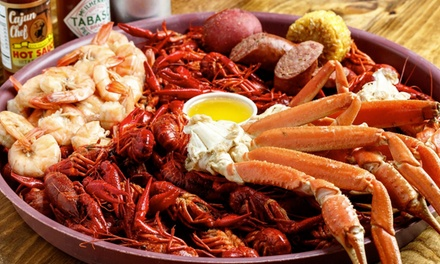 Authentic Cajun Cuisine at The Crawfish Joint (Up to 40% Off). Two Options Available.