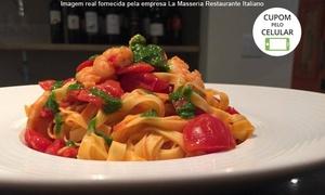La Masseria Restaurante Italiano: La Masseria – Cambuí: jantar com entrada, prato principal e sobremesa para 1, 2 ou 4 pessoas