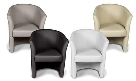 4 poltroncine da salotto Imperial disponibili in 2 colori a ...