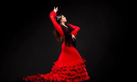 Espectáculo flamenco con aperitivo y bebida para 2, 4 o 6 personas desde 24,99 € en Centro El Lucero