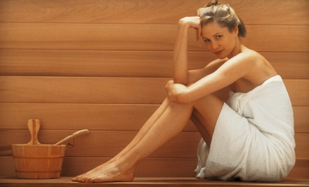 4 Infrared-Sauna Sessions (a $120 value) - Oasis Club and Spa for Women in The Woodlands
