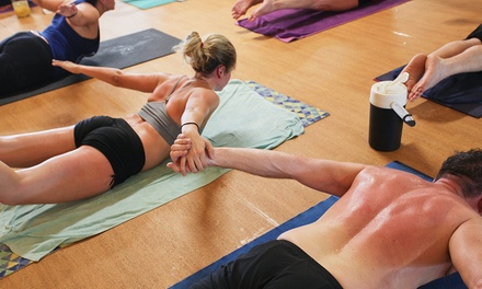 Five Classes at Hot Yoga Claremont (Up to 73% Off)