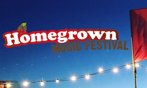 Homegrown Music Festival 2018: Homegrown Music Festival, One-Day or Weekend Ticket, Church Farm, Barrow (Up to 55% Off)