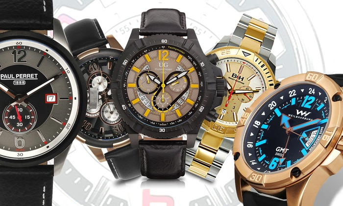 Men 39 s watch clearance event groupon goods for Watches clearance
