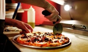 Eventos Luso: Rodízio de pizza para 30, 50 ou 80 pessoas com Eventos Luso
