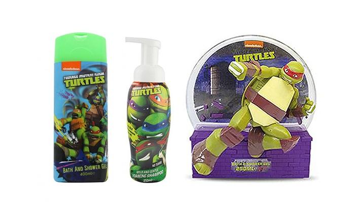 Amazing Groupon Goods Global GmbH: Three Piece Teenage Mutant Ninja Turtles Bath Set  For £