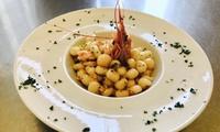 Menu di mare con calice di vino alla Garbatella al ristorante Cucina in Piazza (sconto 67%)