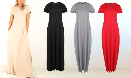 Be Jealous Oversized Maxi Dress Available Up to Size 26