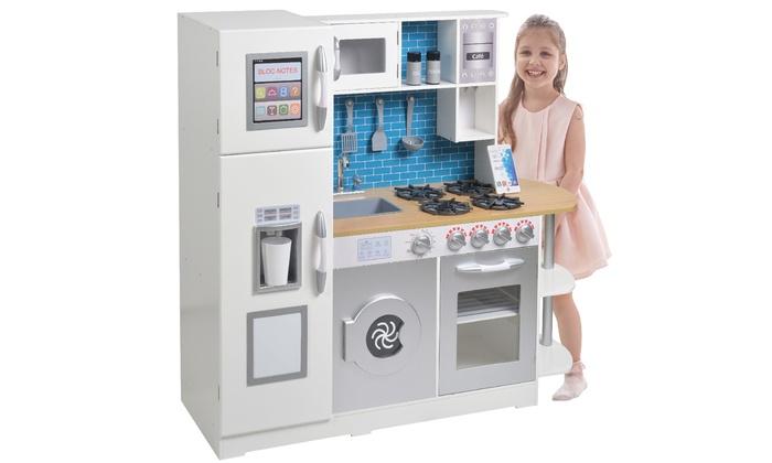 teamson kids wooden play kitchen - Kids Kitchen