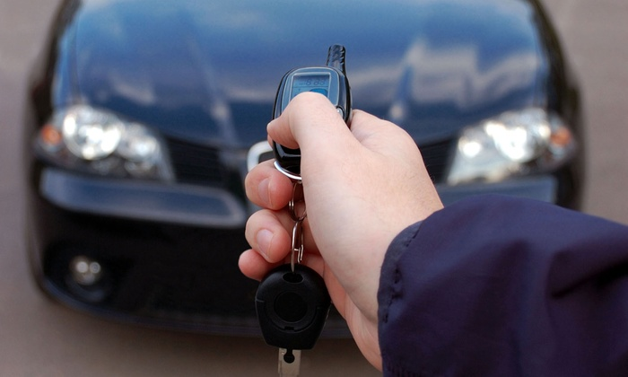 Midwest Auto Customs - Minneapolis: Keyless Remote Car Starter with Installation at Midwest Auto Customs (Up to 70% Off). Two Models Available.