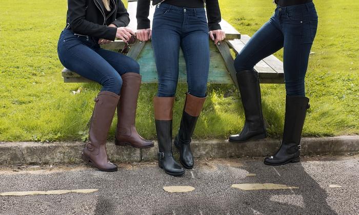 DamenGroupon Stiefel Für Im Stiefel Für Reiterstil Im Reiterstil stxhQCrd
