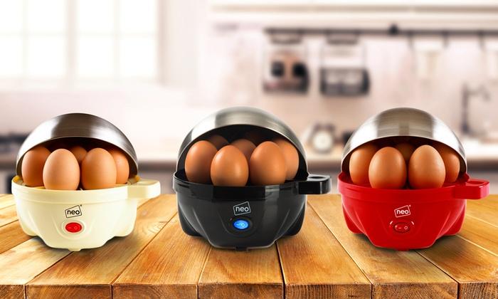 Neo Three-in-One Egg Boiler, Poacher and Omelette Maker