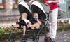 costway Foldable Double Stroller
