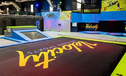 One Hour Multi Level Soft Play Area Access for Up to Six at Velocity Sports and Recreation Club (Up to 60% Off)