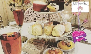 Just Tickled Pink: Traditional High Tea for Two ($39) or Four People ($69) at Just Tickled Pink, Hyde Park (Up to $160 Value)