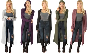 Lyss Loo Long-Line Hooded Cardigan at Lyss Loo Long-Line Hooded Cardigan, plus 6.0% Cash Back from Ebates.