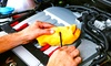 Collison Motoring Services LTD - Waterlooville: Car Service With Filter Change Plus Valet for £49 at Collison Motoring Services (46% Off)