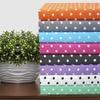 Superior 600-Thread-Count Cotton-Blend Polka Dot Duvet Cover Set