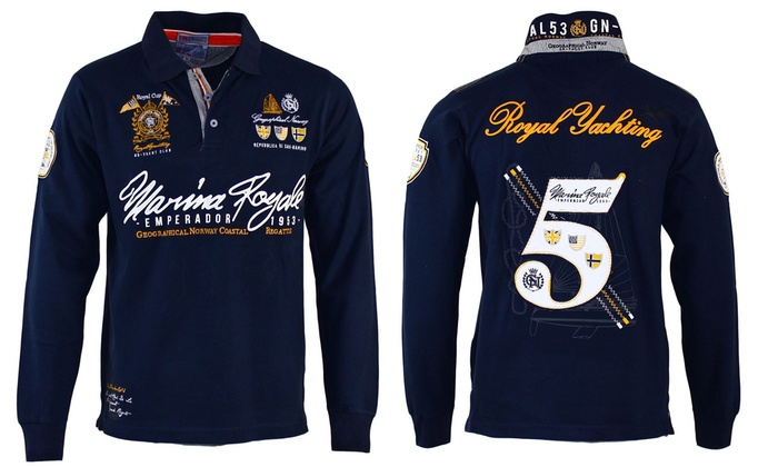3c5eb196 Geographical Norway Polo Shirt | Groupon