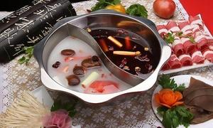 Sichuan Hot Pot & Asian Cuisine: Asian Food for Two at Sichuan Hot Pot & Asian Cuisine (40% Off)