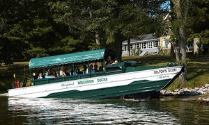 Original Wisconsin Ducks®: Amphibious-Duck Tour of the Wisconsin Dells for Two or Four from Original Wisconsin Ducks (Up to 17% Off)