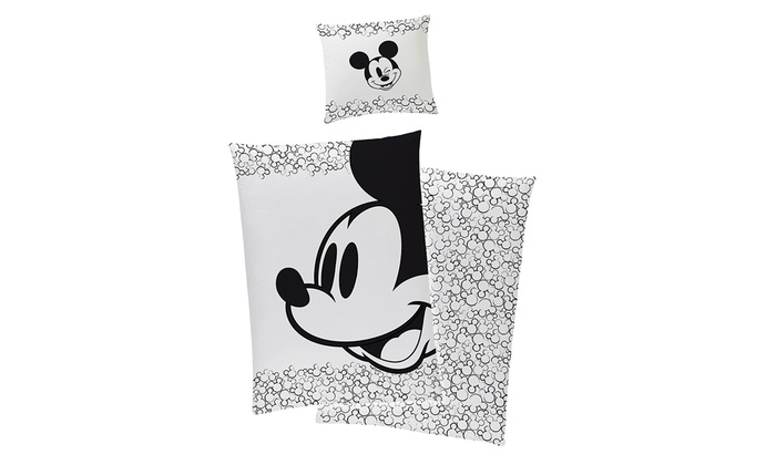 Mickey Mouse Bettwäsche Set Groupon