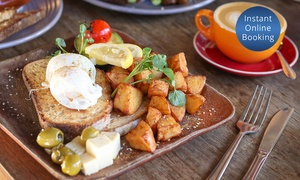 Well Connected: All-Day Breakfast with Coffee for One ($13), Two ($24) or Four People ($48) at Well Connected (Up to $86 Value)