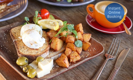 AllDay Breakfast with Coffee for One $13, Two $24 or Four People $48 at Well Connected Up to $86 Value