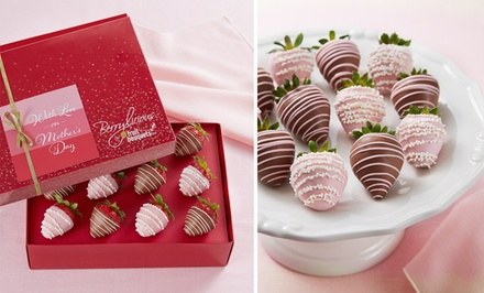 Berrylicious Chocolate Dipped Berries from FruitBouquets.com (50% Off)