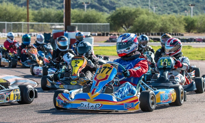 Phoenix Kart Racing Association - Adobe Dam:  for Go-Kart Race Package from Phoenix Kart Racing Association ( Value). Six Race Dates Available