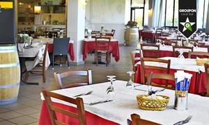 Ristorante Vecchia Osteria: Menu di pesce con vino da 29,90 € sul Lago Maggiore