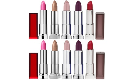 $19 for a TenPack of Maybelline Colour Sensational Lipsticks Don't Pay $147.70