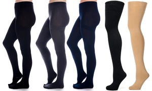 Noble Mount Women's Microfiber Anti-Pilling Tights