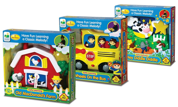 The Learning Journey Early Learning Sing & Learn Toys