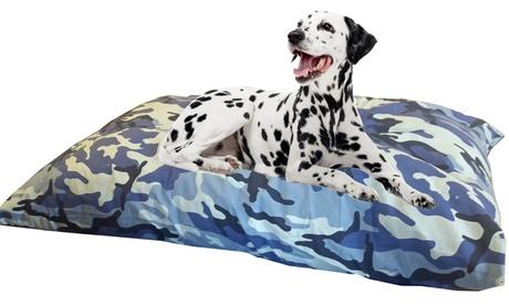 Cama camuflaje Jumbo para perro