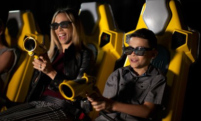 image for Two Rides with One Photo or Four Rides with Two Photos at 7D Dark Ride Adventure (Up to 50% Off)