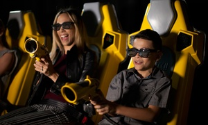 Two Rides with One Photo or Four Rides with Two Photos at 7D Dark Ride Adventure (Up to 52% Off)