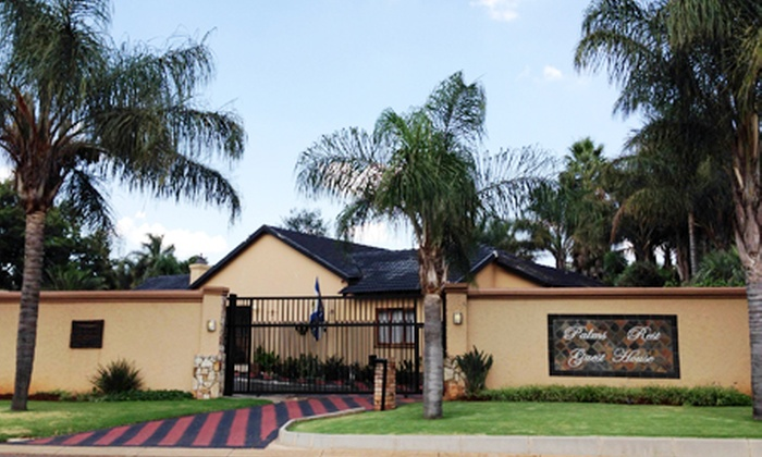 Joelene Khumalo - Merchandising (ZA): B&B Accommodation for Two at Palms Rest Guest House