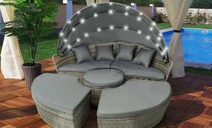 Arredamento per patio e giardino deals coupons groupon - Letto da esterno ...