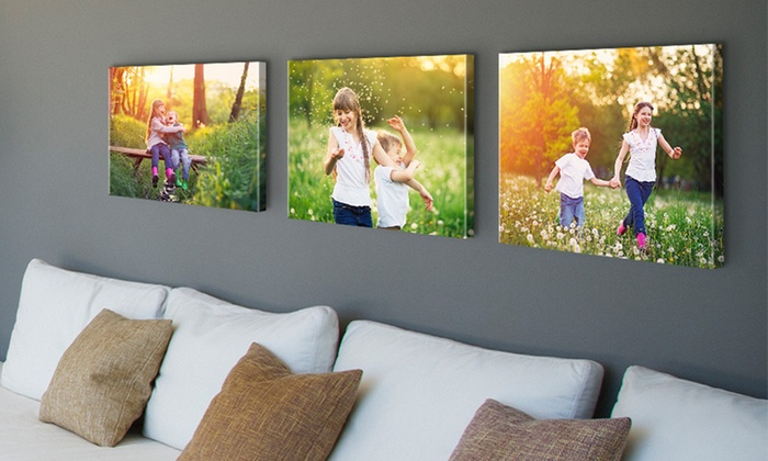 Tabletop and Wall Canvases - Canvas on Demand | Groupon